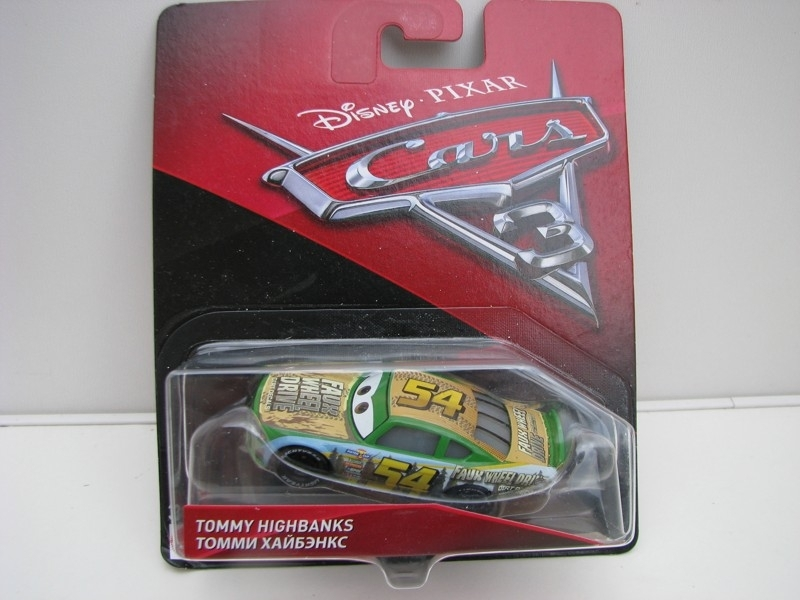 Tommy Highbanks autíčka Cars Disney Pixar Cars 3 DXV61